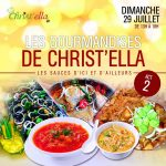 Un bon buffet et des plats cuisinés avec passion sur Cotonou avec Christ'Ella